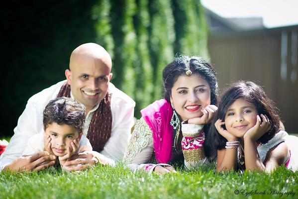 Abhi's Family photo session