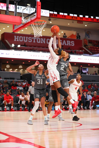 UH WBB vs TAMU RAW