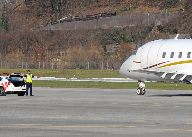Lugano Airport - 11.03.2016