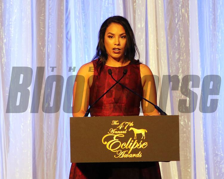 Alicia Wincze 2018 Eclipse Awards , Gulfstream Park