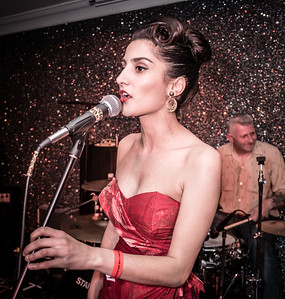 Ashle Katie-Ann and Her Band at Welsh Rockabilly Fair 2017