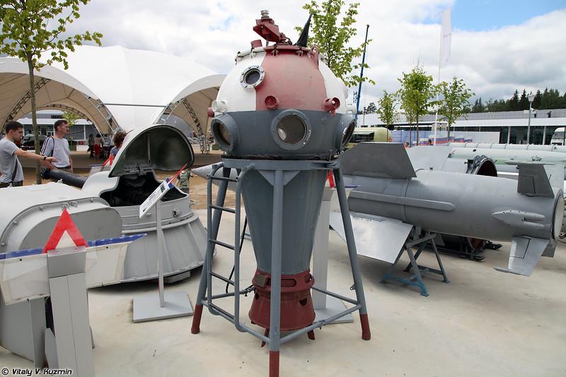 Наблюдательная камера НК-300 (NK-300 observation apparatus)