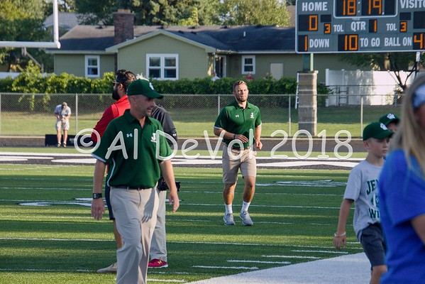 JHS Varsity Football 2018