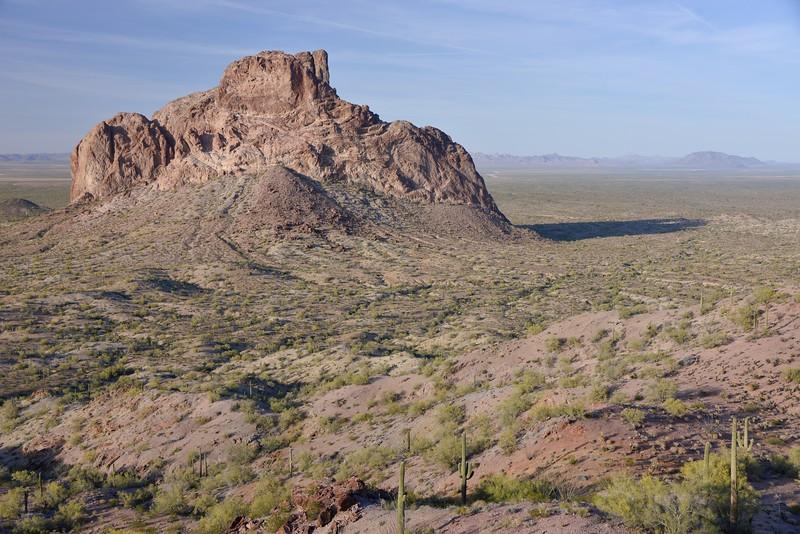 (2014- May 4-5)  Eagletail Mountain Wilderness  (BLM), Arizona