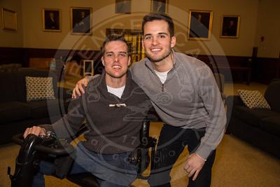 Joey Mullaney '13 Visits Campus