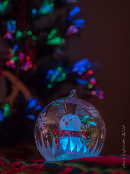 Frosty in a Bubble