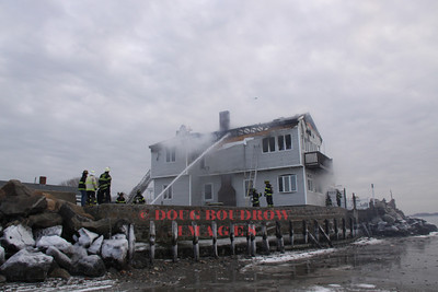 Nahant, MA - 2nd Alarm, 37 1/2 Castle Road, 2-5-13