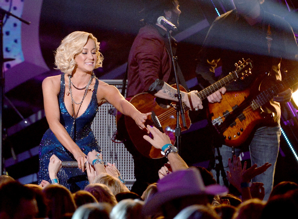 . Recording artist Kellie Pickler performs onstage during the 2013 American Country Awards at the Mandalay Bay Events Center on December 10, 2013 in Las Vegas, Nevada.  (Photo by Ethan Miller/Getty Images)