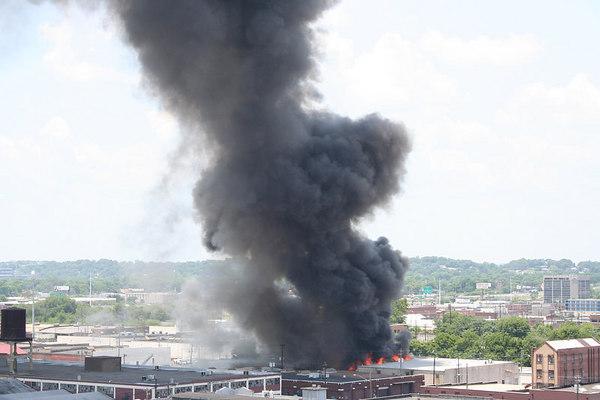 Shoe Warehouse Fire in Birmingham