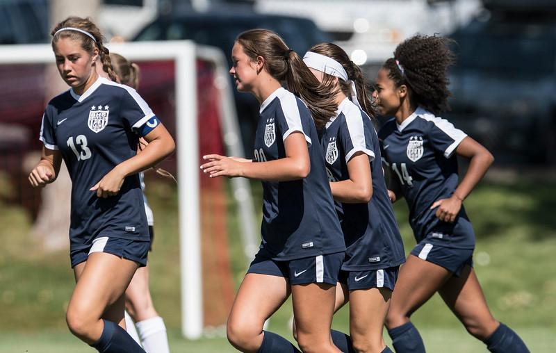 Weber vs Bonneville Girls Soccer