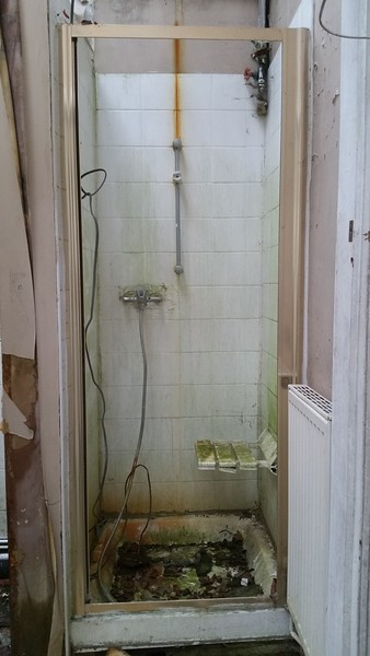 Ground floor shower cubicle.