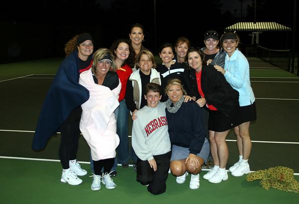 Nov 5, '06: Hamilton Mills Ladies Tennis: Sunday Afternoon
