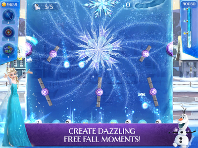 FROZEN FREE FALL: ICY SHOT launches today for free on mobile devices