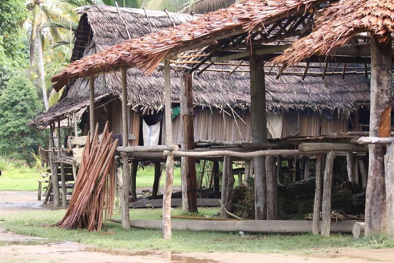 Yimas#2 village Karim tribe