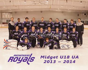 RRoyals Midget U18 UA 012814