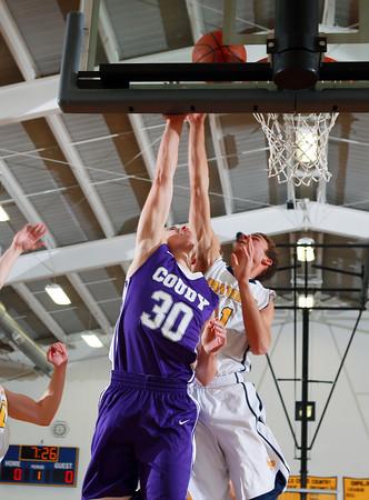 2015 Coudersport Boys Basketball @ Northern Potter