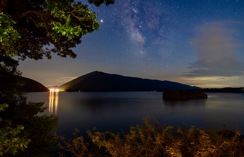 Smith Mountain Lake Starscape