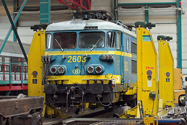 8th October 2011: Belgium Day 4-Brussels and Charleroi Depot Open Day