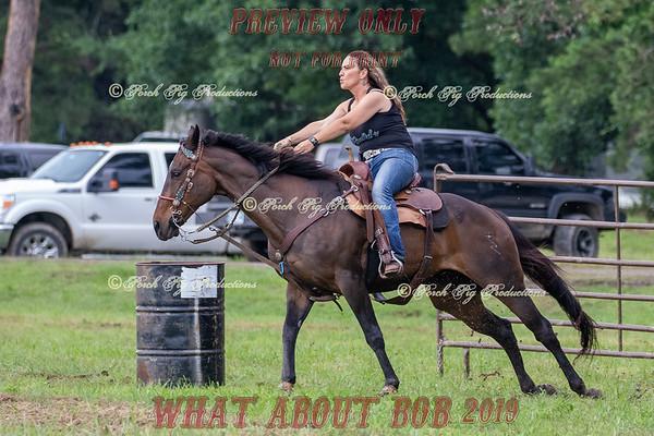 Pasture Barrel Racing