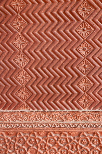 Detailed carvings of Fatehpur Sikri