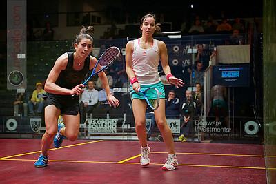 2012 U.S. Open Women's Quarterfinal: Joelle King (New Zealand) defeated Jenny Duncalf (England)