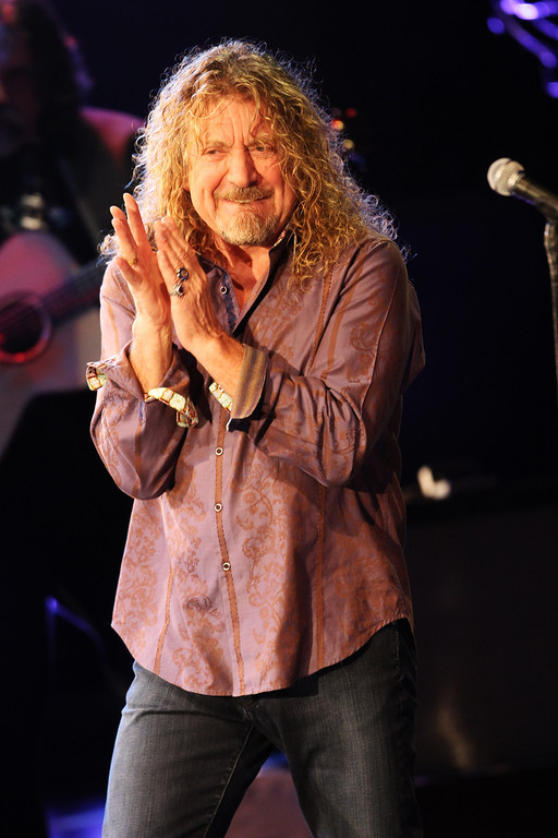 . Robert Plant performs as part of the BBC Electric proms 2010 held at The Roundhouse on October 29, 2010 in London, England.  (Photo by Getty Images/Getty Images)