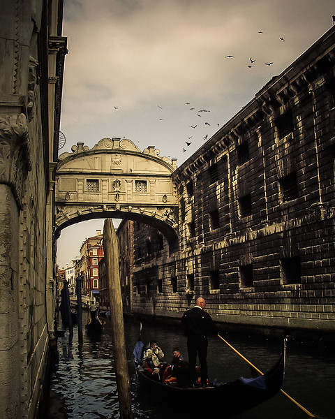 Ponte dei Sospiri, Bridge of Sighs