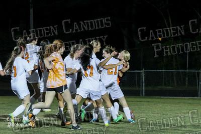 DHS VARSITY Ladies Soccer vs Mt Tabor -Senior Night- 5-7-15