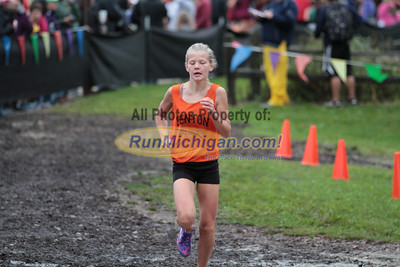 Middle School Girls Finish - 2014 Nike Holly Duane Raffin Cross Country Invite