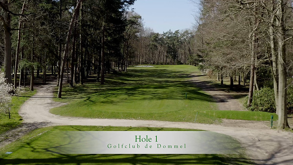 Golfclub de Dommel video per hole