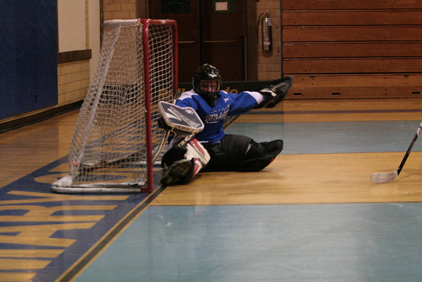 Floor Hockey at St Mary of Celle