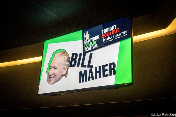 Bill Maher at MSG November 2019