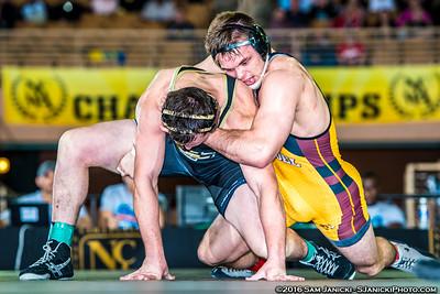 184 - Chaney def. Dobler - 2016 NCWA Championships