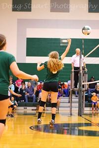 Varsity & Freshmen Volleyball,  8/16/16