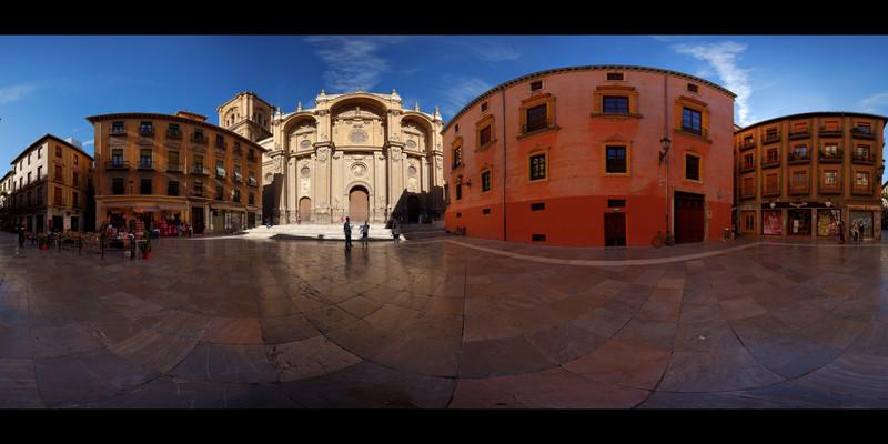 Granada Cathedral Square HDR Panorama.jpg