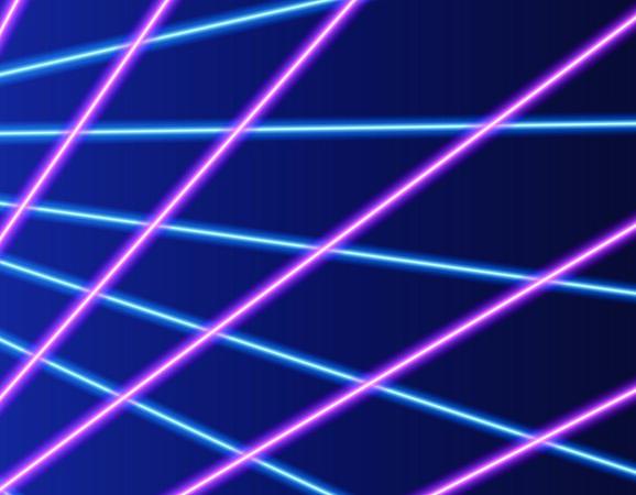 Laser Backdrop