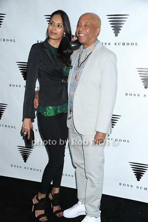 Ujjwala Raut and Russell Simmons