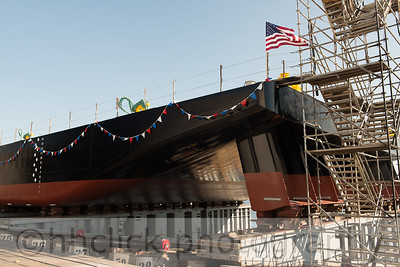 Launch of AMS 250 at Gunderson Marine