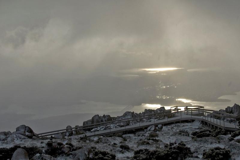 Hobart from Mount Wellington 2 - Tasmania, Australia