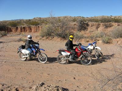ADV Quebradas-Gordy's Hill area DS Ride  1-18-09
