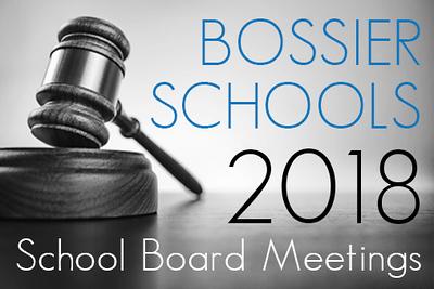 School Board Meetings - 2018