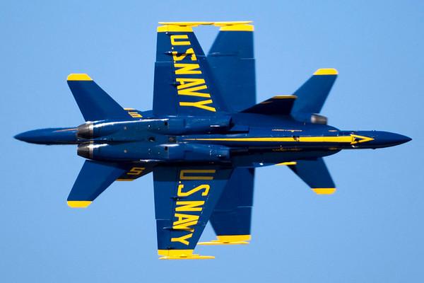Tyndall AFB - Blue Angels Crossing Shots