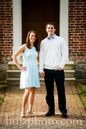 Sarah & Jared Color Engagement Photos