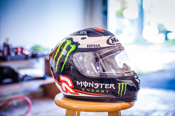HJC RPHA 10 Lorenzo Helmet