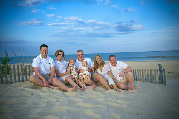 Shaffer Family Beach Portrait