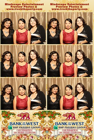 Bank of the West Holiday Party 2014 - Photo Booth Pictures