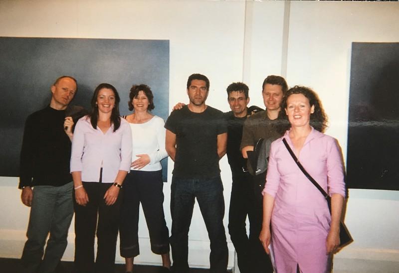 2001 A Quiet Place, Flinders Lane Gallery, Melbourne