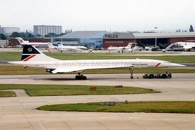 Aérospatiale BAC Concorde 102