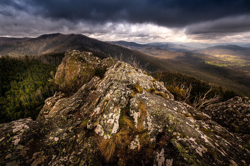 Bleak at Cathedral Ranges