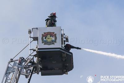 Vacant House Fire - 181 Hanover St, Bridgeport, CT - 7/4/19